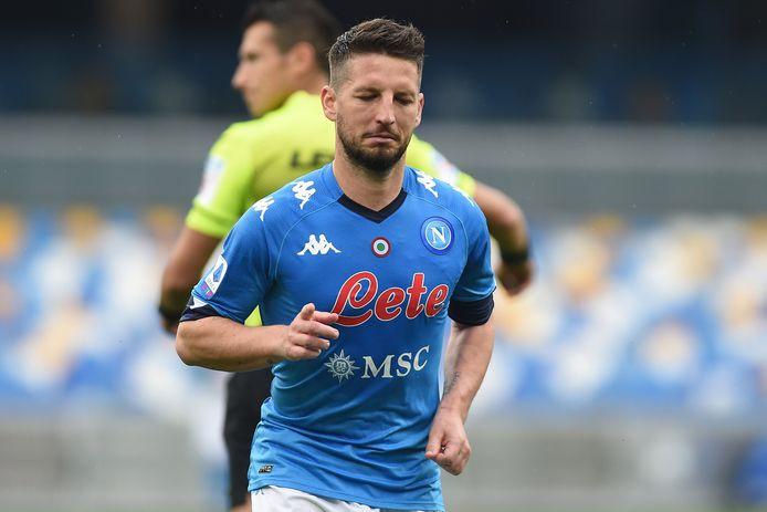 Un quart d'heure de jeu et un assist pour Dries Mertens à Gênes.