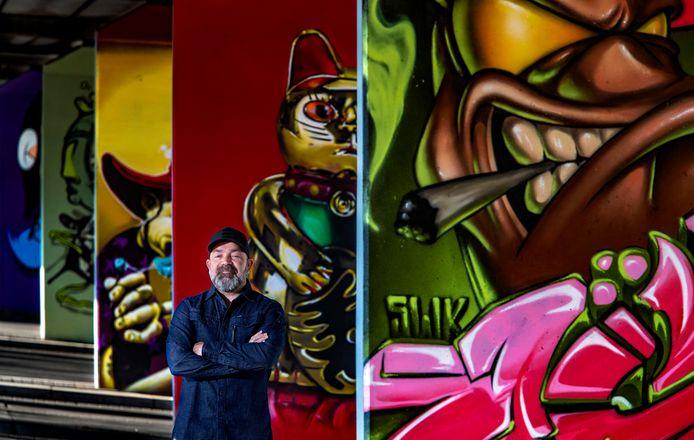 Angelo Martinus was 20 jaar lang inspirator van de urban scene in Eindhoven.