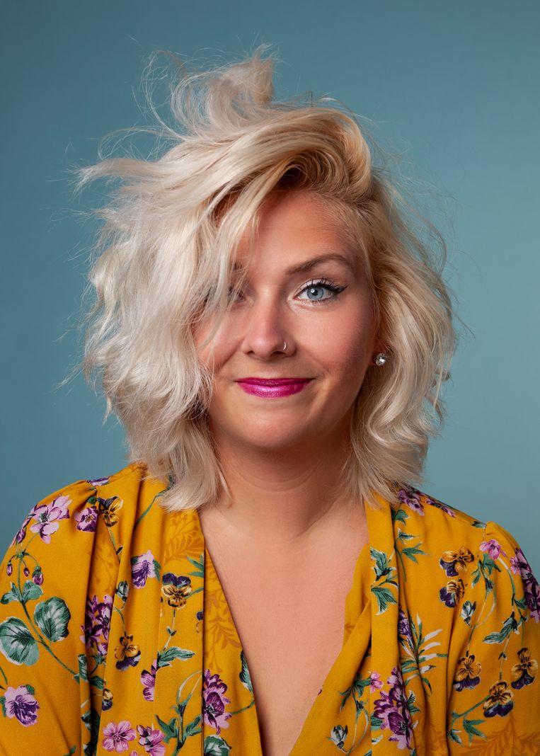 Stacey Smith, docent en artistiek directeur van het Boom Chicago Comedy Festival.  Beeld Nathalie Hennis