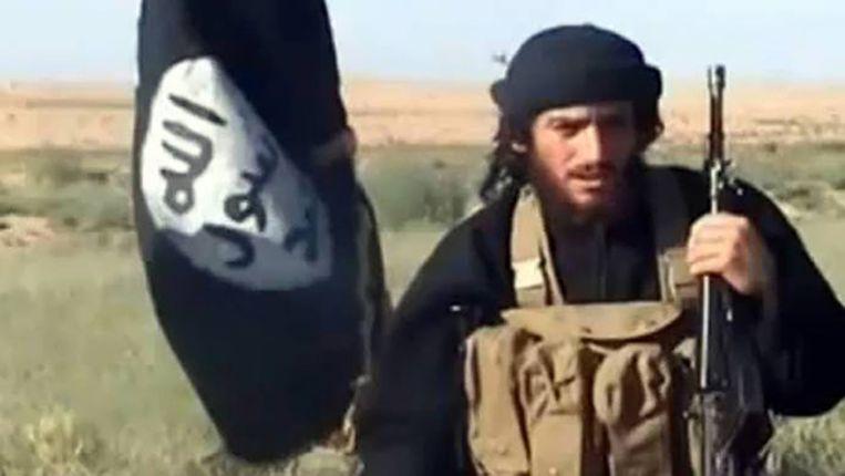 Abu Mohamed al-Adnani. Beeld Screenshot video
