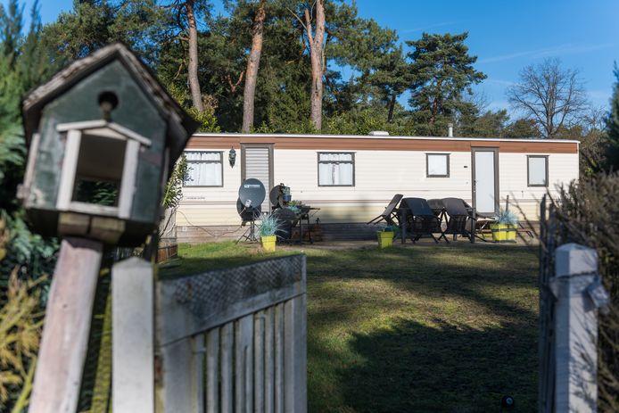 Voormalig camping de Zwarte Bergen in Luyksgestel.