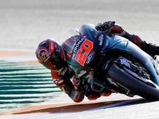 Quartararo troeft Márquez af en pakt pole in Valencia