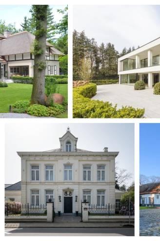 Niet alleen in Knokke is luxevastgoed razend populair: onze woonexpert toont de riantste villa's in elke provincie
