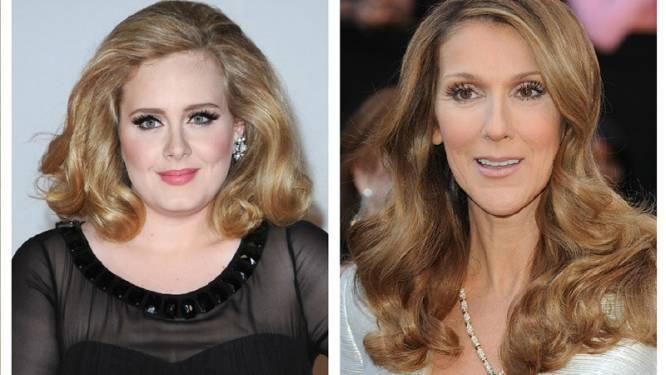 'Skinny' Céline Dion vol lof over ronde vormen van Adele