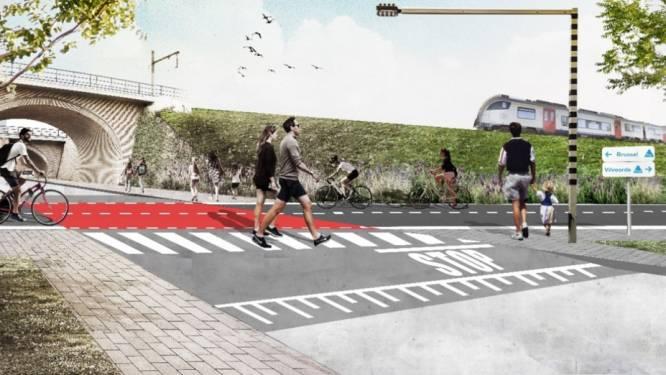 Nieuwe fietssnelweg op komst: 4 km langs de spoorweg tussen Vilvoorde en Haren