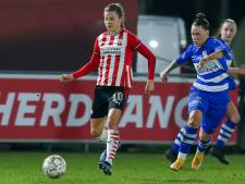 PSV Vrouwen tweede in eredivisie cup na ruime zege op PEC Zwolle