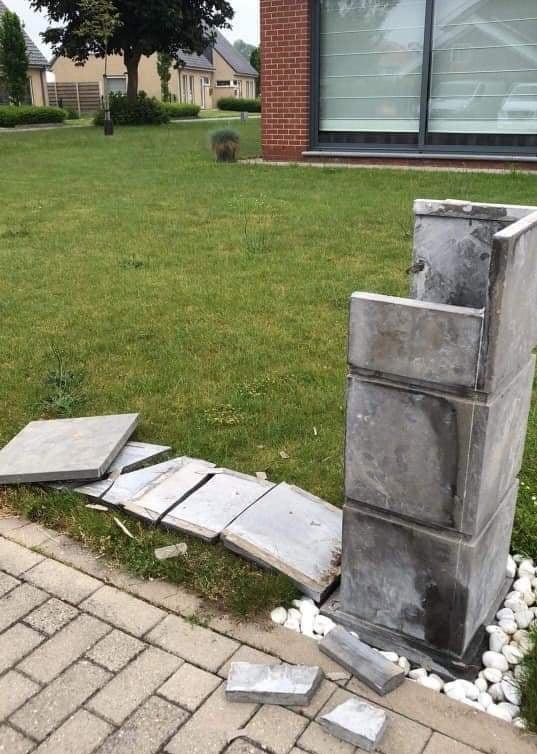 Opnieuw werden drie brievenbussen vernield.