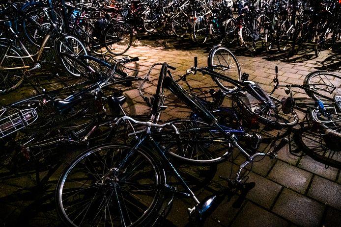 In Leidsche Rijn vindt veel overlast door fietsendiefstallen plaats.
