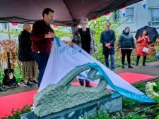 Kunstwerk onthuld bij Het Parkhuis ter nagedachtenis aan corona-uitbraak