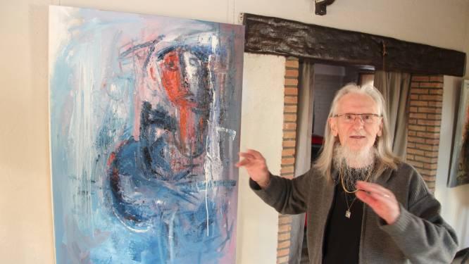 Kunstschilder Marcel Beeckman (82) onverwacht overleden, zijn laatste schilderij blijft onafgewerkt achter