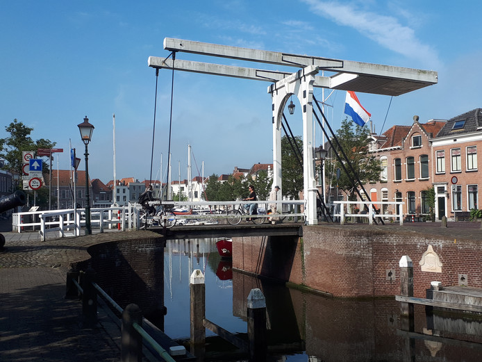 De stadshaven in Goes.