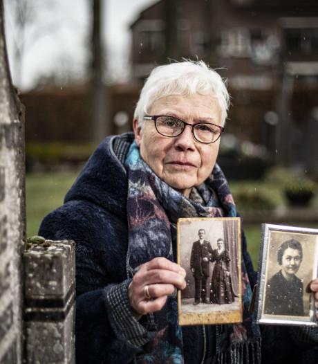 Miekes moeder was net weg toen de bommen op Glane vielen, oma niet
