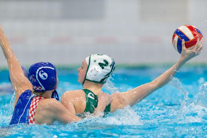 Polar Bears (in het groen op archiefbeeld) schakelde ZVL uit in de eerste ronde van de play-offs.