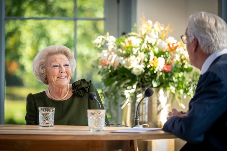 Prinses Beatrix en Jan Slagter Beeld Spierfonds | Frank van Beek