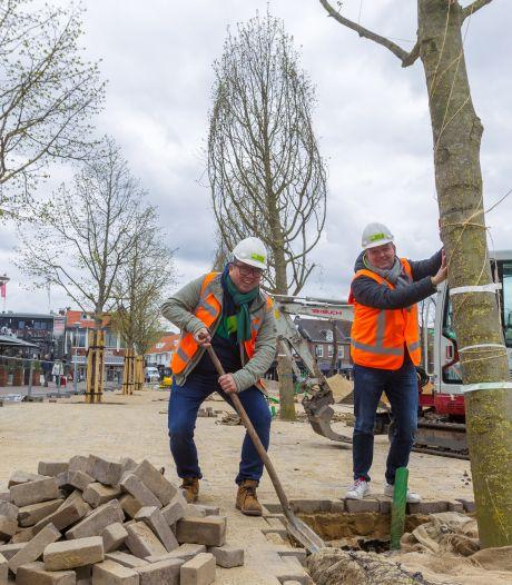 Nieuwe bomen maken Markt in Valkenswaard stukje groener