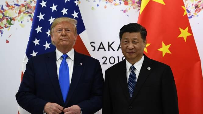 Trump dreigt alle banden met China te verbreken