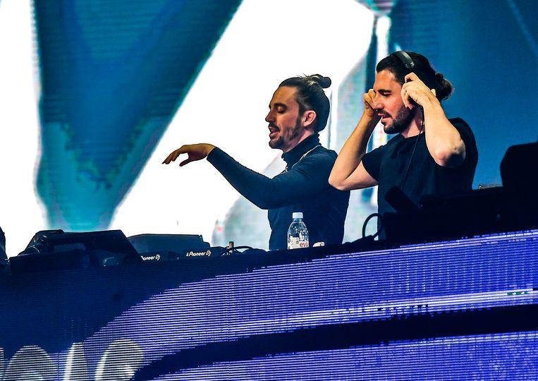 Dimitri Vegas & Like Mike. Beeld Joel Hoylaerts / Photo News