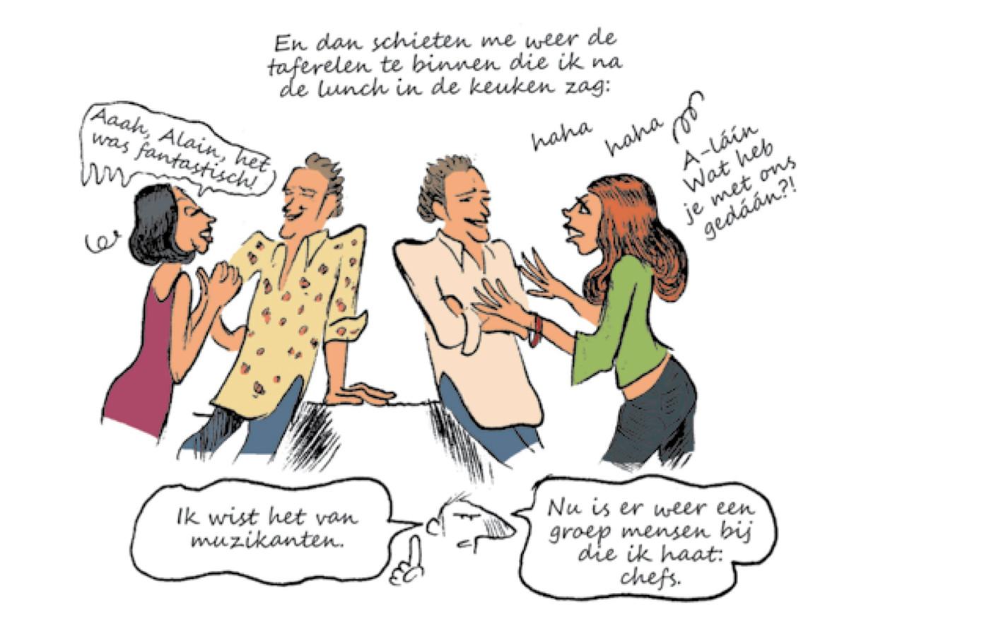 Afbeelding uit het genoemde stripboek.
