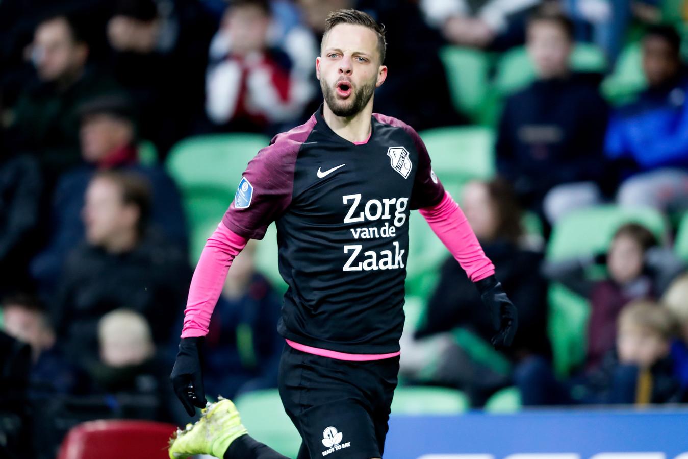 Bart Ramselaar mist het duel met FC Groningen in de KNVB-beker, terwijl hij de eredivisiewedstrijd een paar dagen geleden nog besliste (0-1).