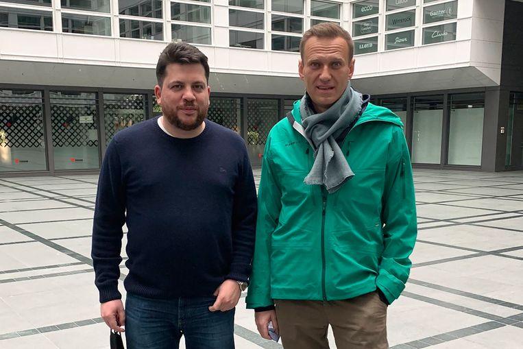 Volkov en Navalny. Beeld AP