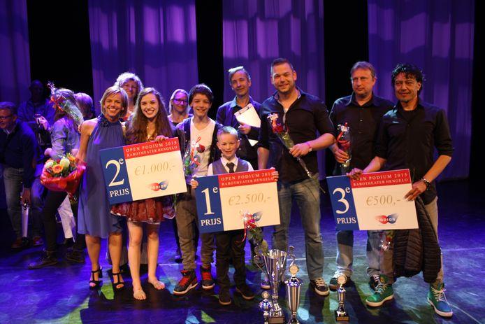 De winnaars van Open Podium Twente 2015