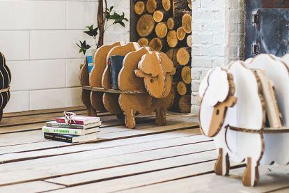 Niet alleen olympische atleten gebruiken ze: kartonnen meubels zitten in de lift