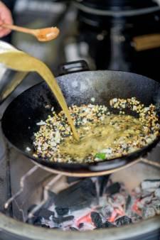 Op hete kolen, barbecuetip: Bataat met fregola