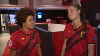 Missipo en Wullaert trekken nieuwe Belgische thuistruitjes al eens aan