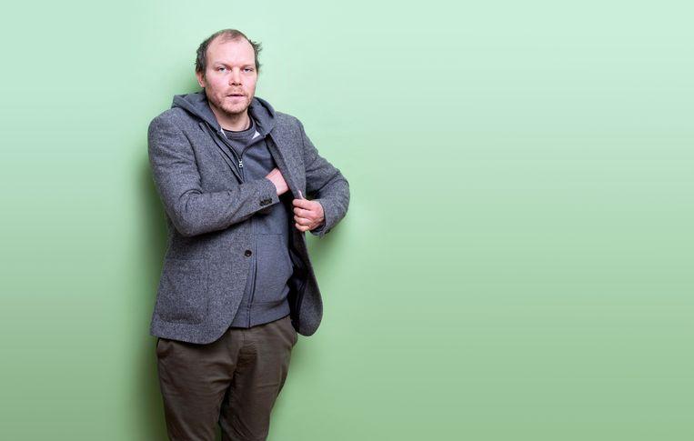 Schrijver Johan Harstad. Beeld Els Zweerink