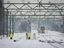 NS houdt slooptreinen achter de hand voor de winter