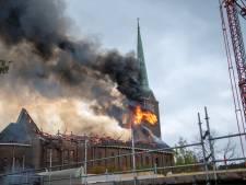 Kerkbestuur hoopt ton in te zamelen voor herbouw Hoogmadese kerk, na brand bijna twee jaar terug