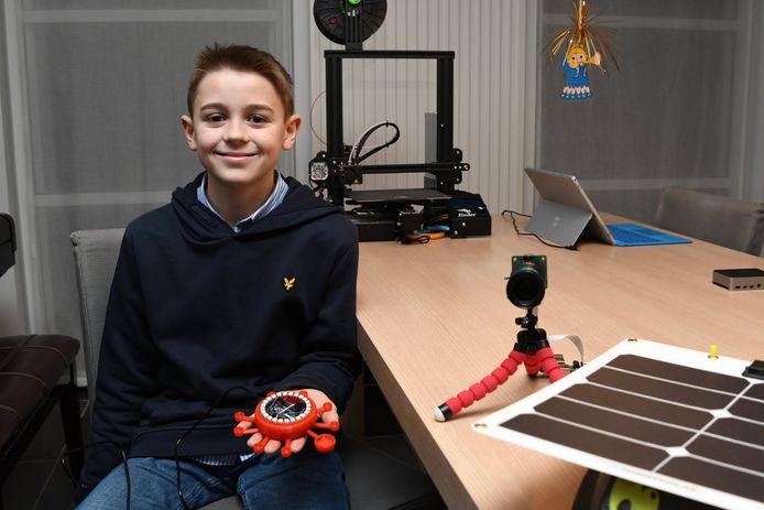 De 20 van 20: Mauro maakt op jonge leeftijd al indruk met zijn uitvindingen.