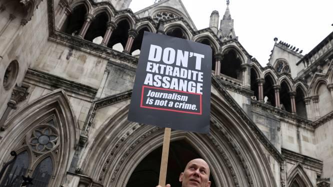 WikiLeaks-oprichter Assange vandaag opnieuw voor de rechter in hoger beroep over uitlevering aan VS