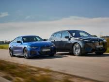 Nieuwe, elektrische BMW komt in twee smaken: i4 toont spierballen, iX de toekomst