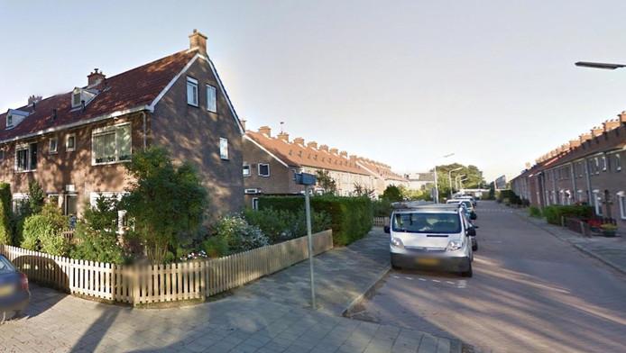 Woningen in de omgeving van de Goeman Borgesiusstraat in Zwanenburg moesten worden ontruimd.