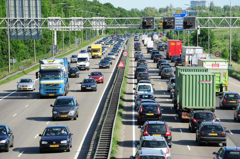 Komend weekend met de auto op vakantie? Dan kun je monsterfiles verwachten Beeld Getty Images