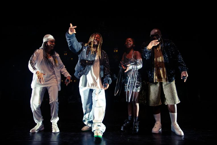 'Who's Tupac?' in KVS Beeld Danny Willems