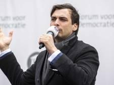 Thierry Baudet doet vanmiddag Alphen aan met zijn verkiezingskaravaan