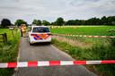 Eusman stortte neer in een weiland in de buurtschap Greffelkamp bij Didam.
