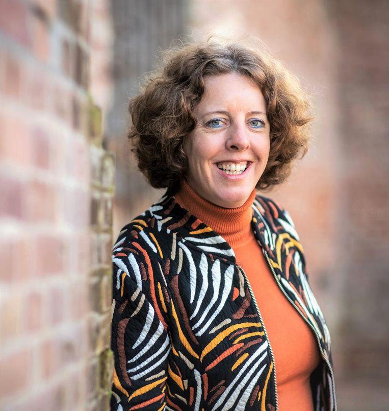 ROC-docent Paula van Manen zit thuis, te wachten op hoger beroep. Beeld CNV