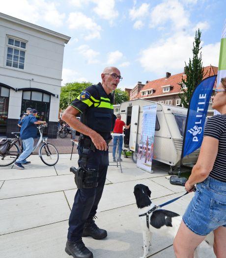 Een caravan in de strijd tegen drugsoverlast in Enschede: 'Er gewoon zijn lost vaak al veel op'