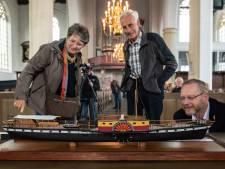 Met scheepsmodel is Stad Geertruidenberg II terug in thuishaven