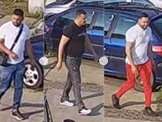 Politie toont beelden van drie nog gezochte verdachten in 'vergisontvoeringszaak'