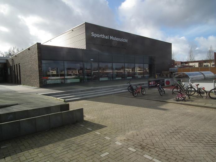 Sporthal Molenzicht in Alblasserdam.
