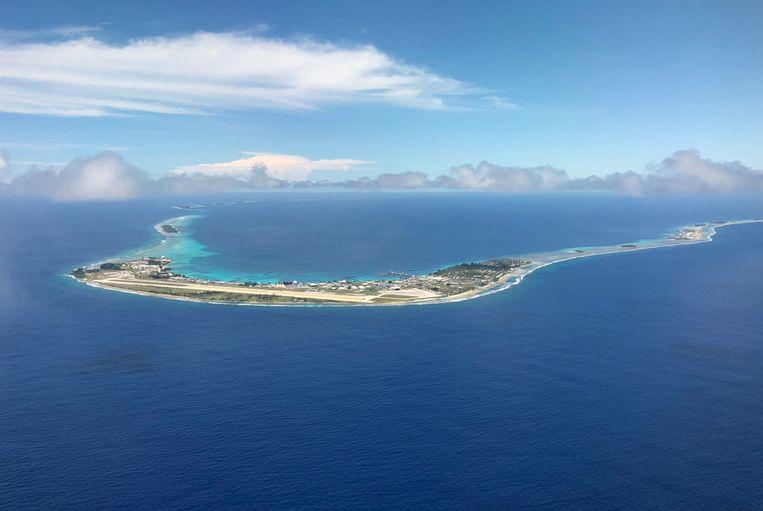 De Marshalleilanden, wonderlijk mooi, maar met een gevaarlijk hoog stralingsniveau. Beeld iStock