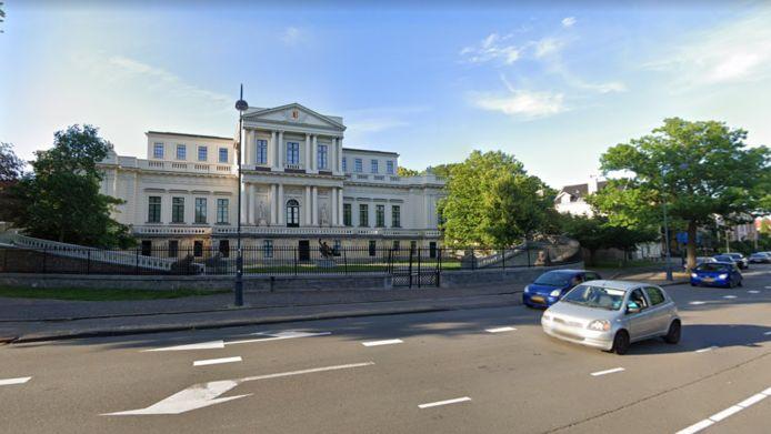 Het provinciehuis in Haarlem