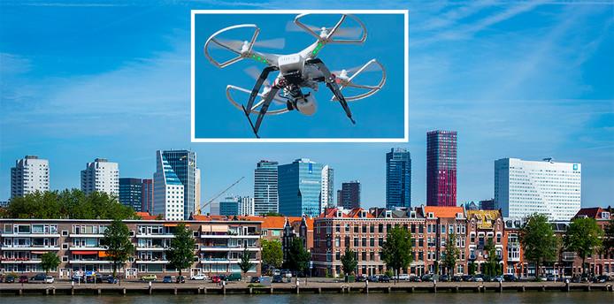 Drones kunnen straks ook pakketjes bezorgen als het aan Geeba ligt. De plannen hiervoor worden de komende maanden in Rotterdam ontwikkeld.