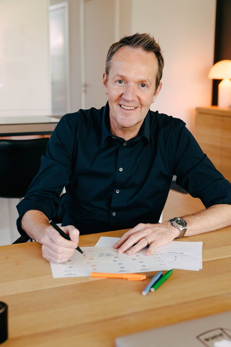 Diëtist Hans Verdoodt. Beeld Damon De Backer