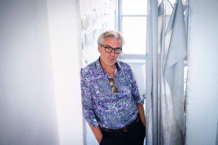 Robert Devriendt, kunstenaar en nu ook auteur. Beeld RV