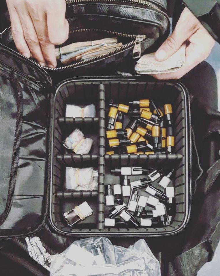 De aangetroffen drugs. Beeld Politie